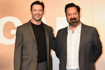 James Mangold and Hugh Jackman