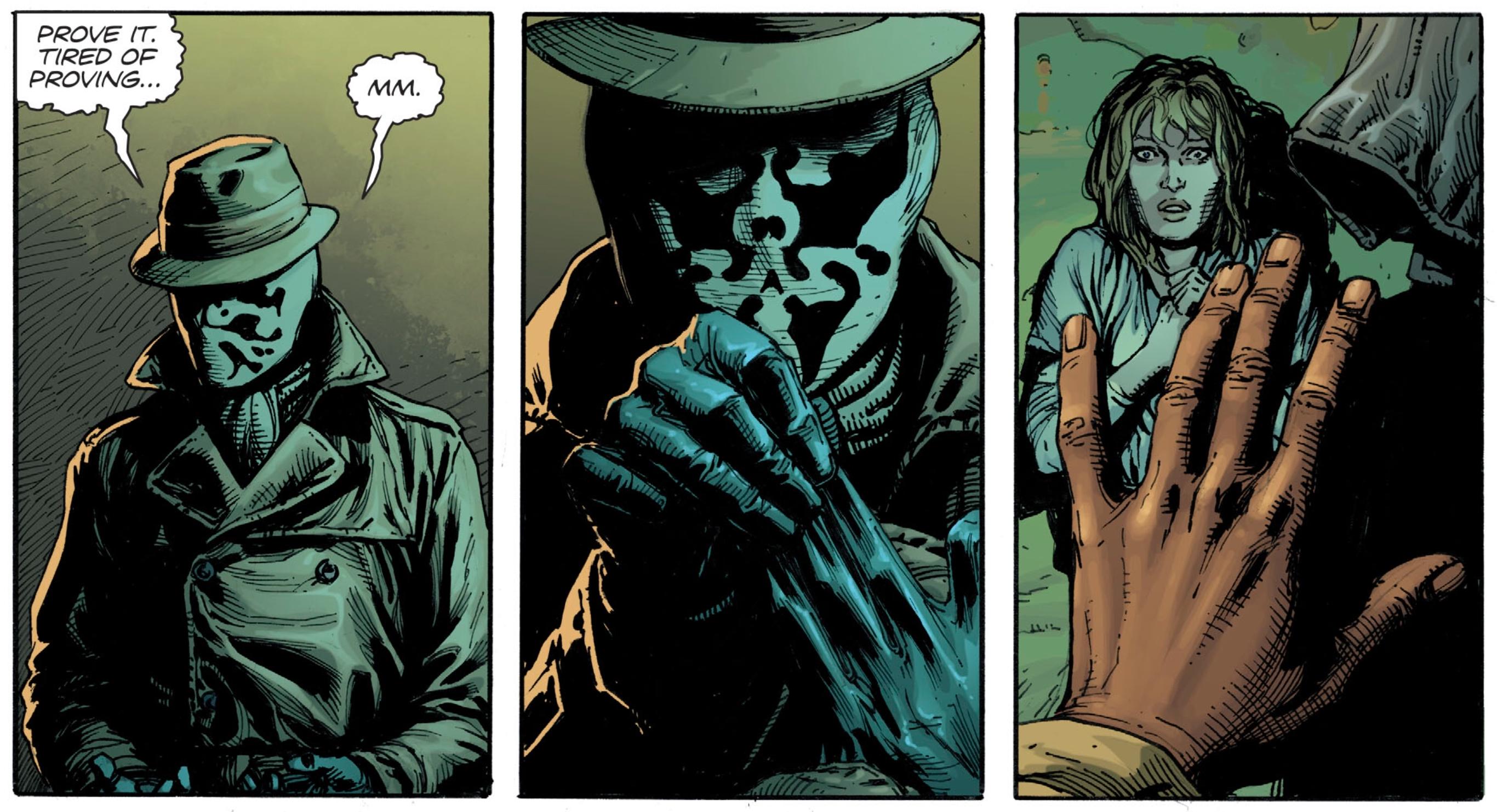 Rorschach Doomsday Clock #1