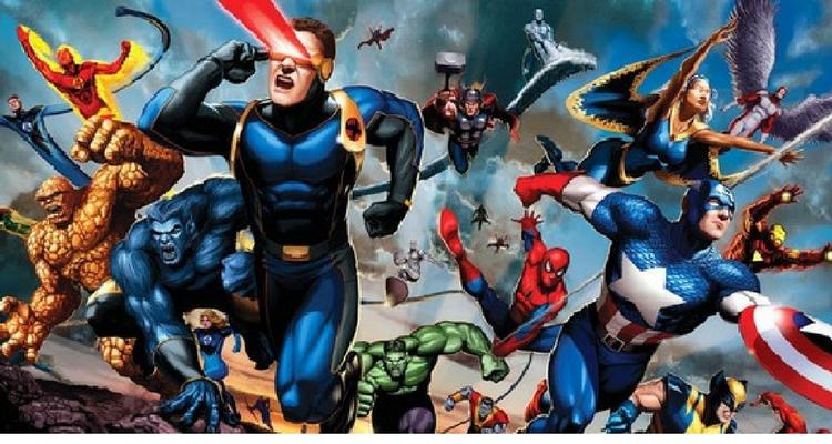 X-Men and Avengers