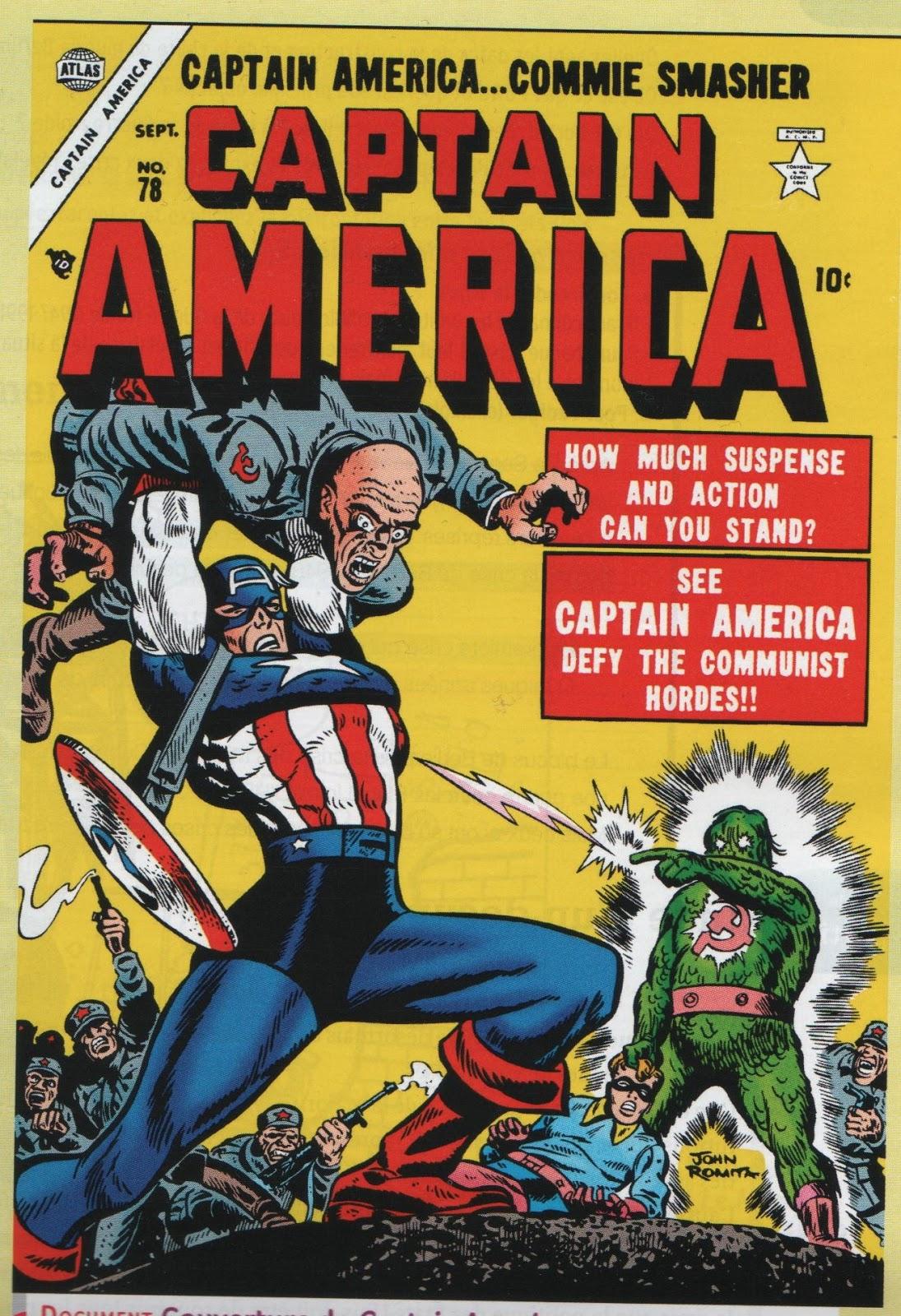Captain America Commie Smasher