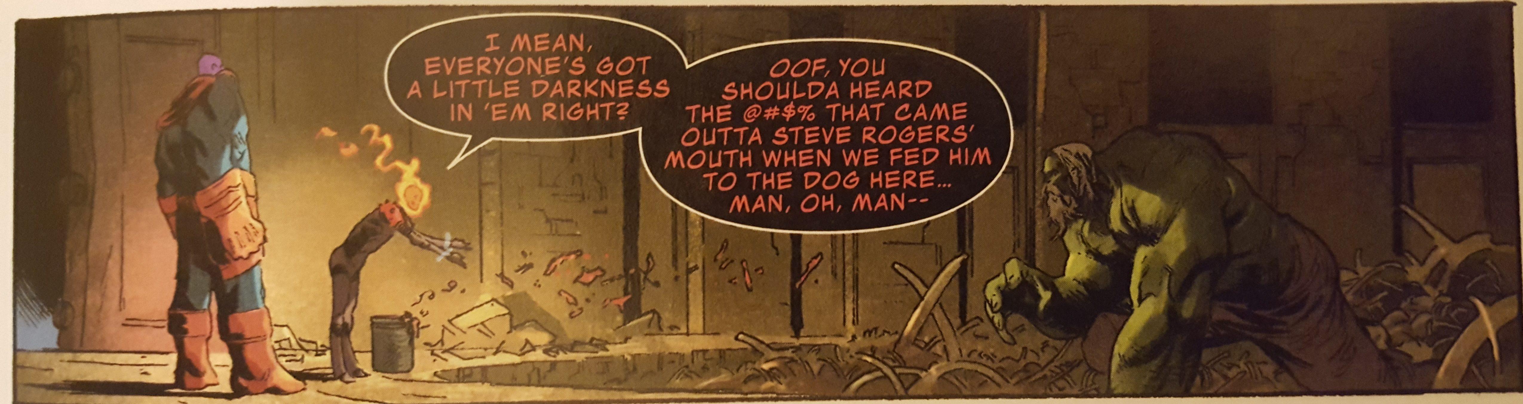Cosmic Ghost Rider and Incredible Hulk