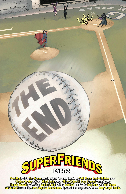 Batman hits Superman's Baseball Pitch