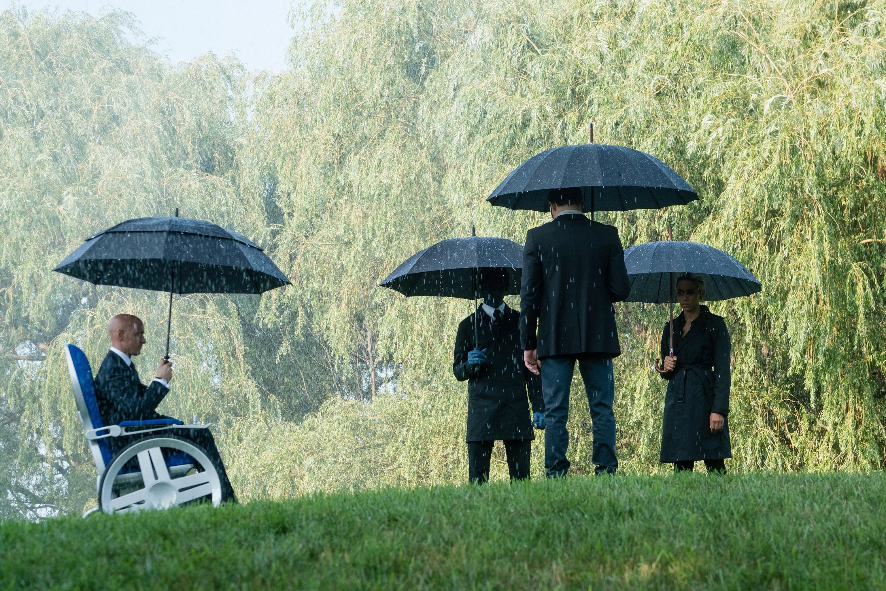 X-Men: Dark Phoenix funeral