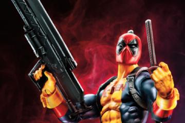 Deadpool X-Men costume Marvel Legends