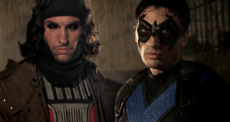 Gambit vs Nightwing