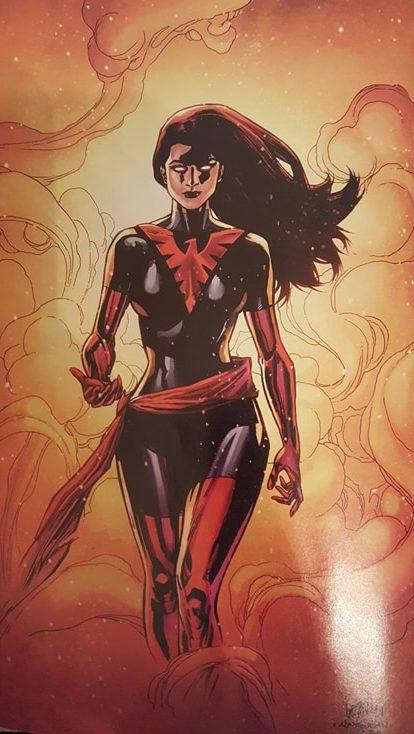 Jean Grey Phoenix Resurrection Outfit