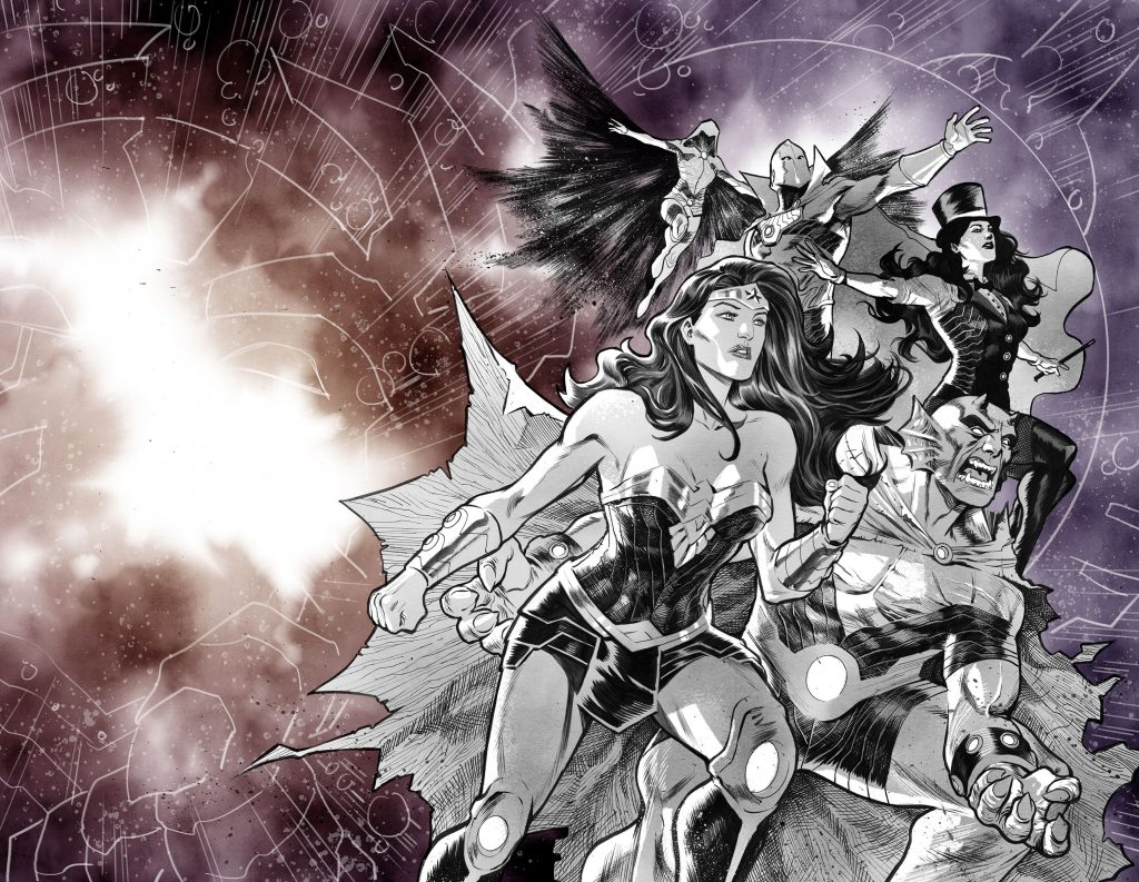 Wonder Woman Cover of Justice League: No Justice by Francis Manapul