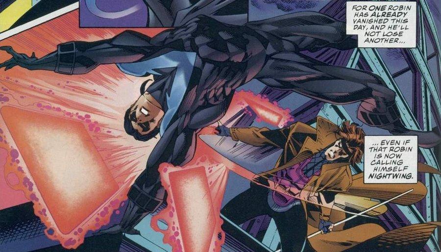 Nightwing vs Gambit