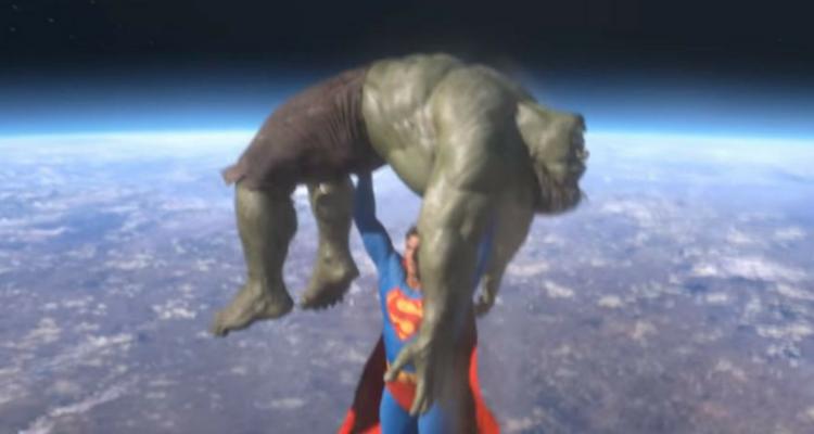 Superman vs Hulk