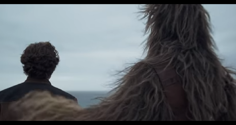 Chewie and Han Solo