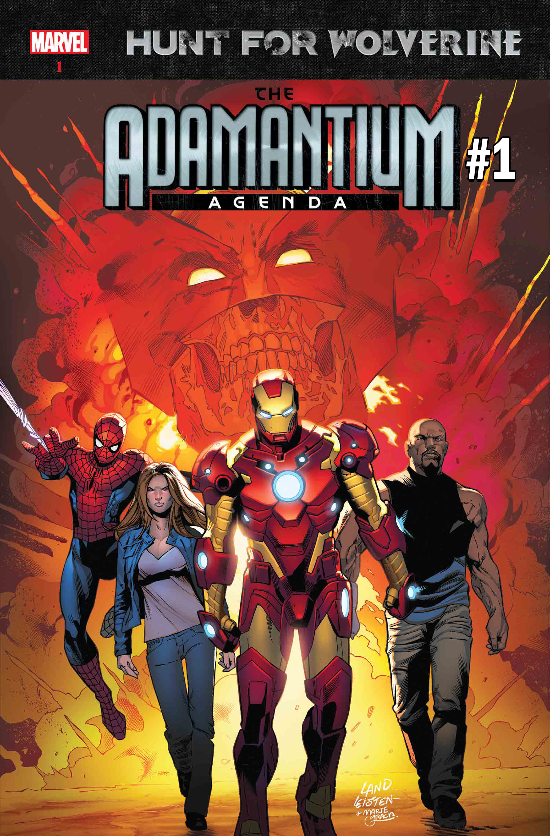 The Hunt for Wolverine: Adamantium Agenda #1