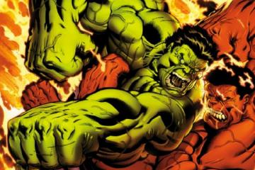 Hulk vs Red Hulk