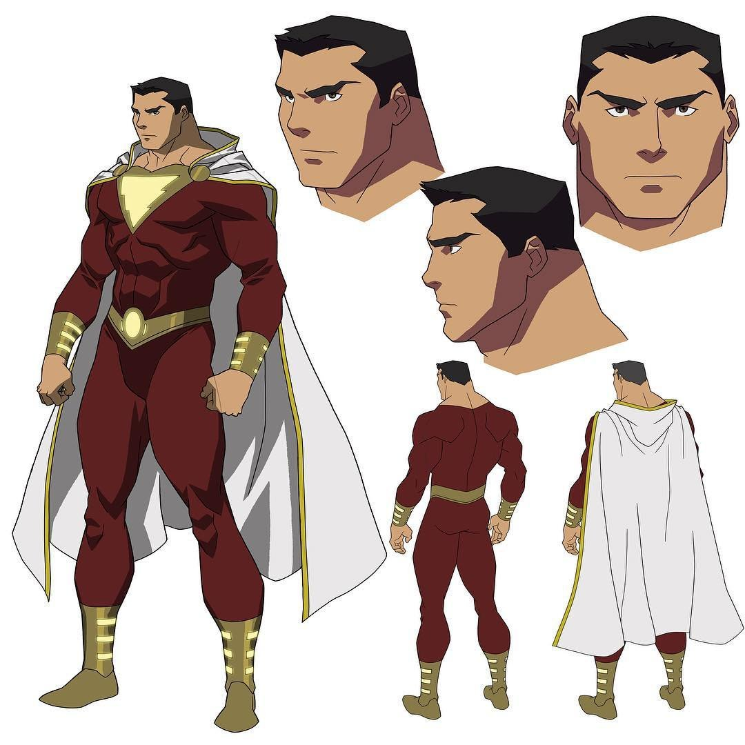 Shazam Justice League: War