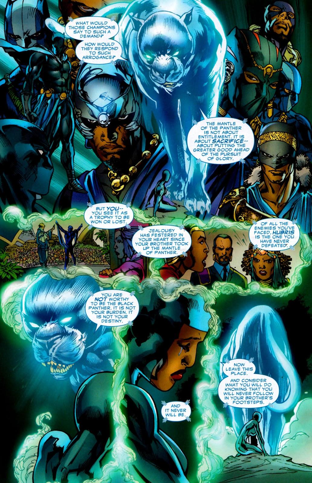 Shuri unworthy of Black Panther