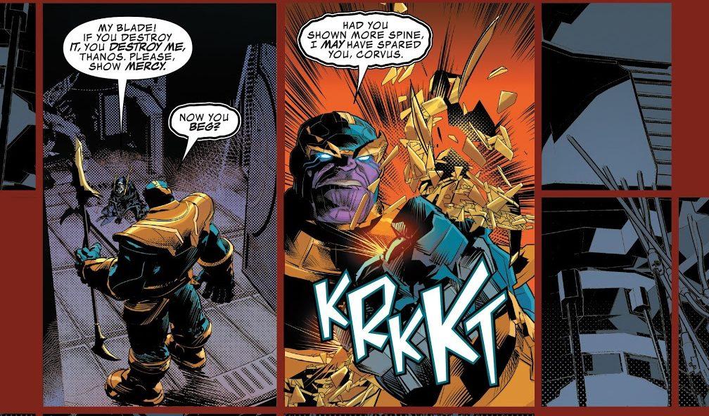 Thanos #1 Corvus Glaive