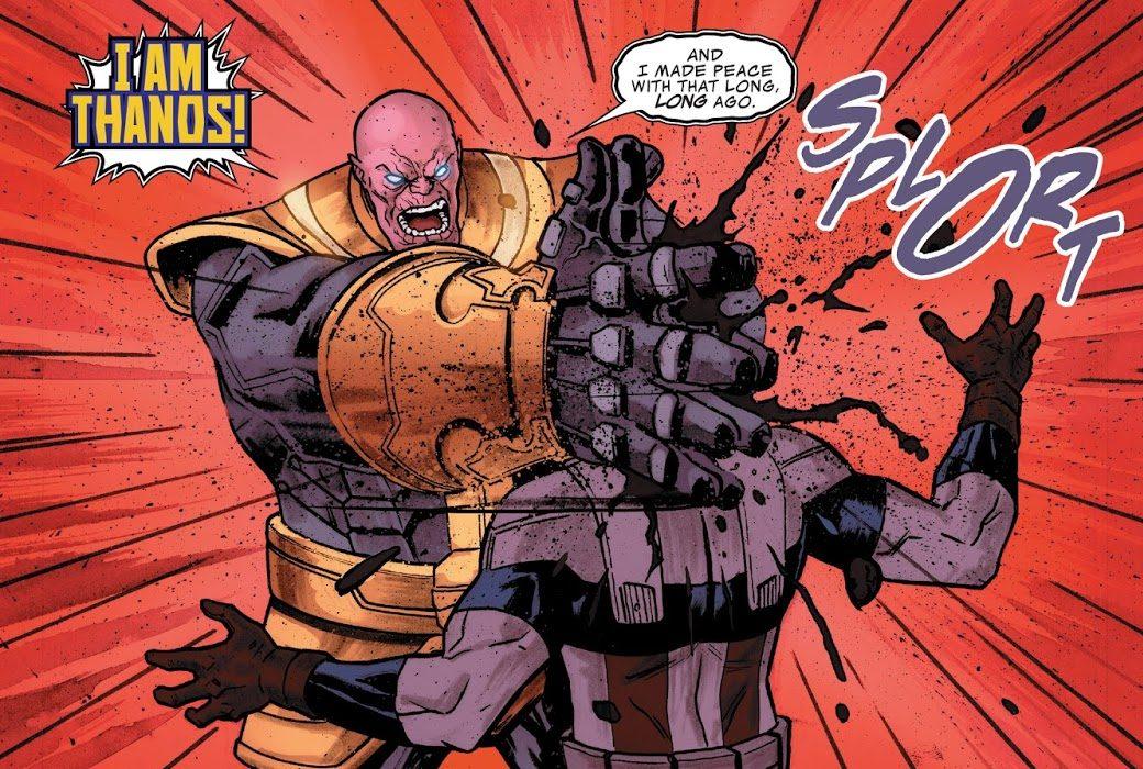 Thanos Kills Sam Wilson