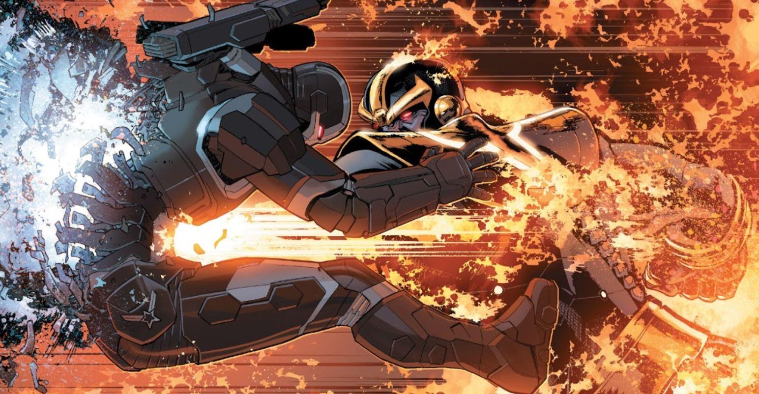 Thanos Kills War Machine