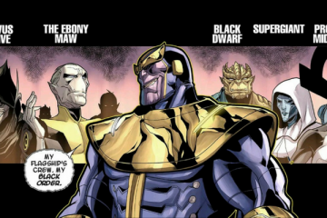 Thanos and Black Order