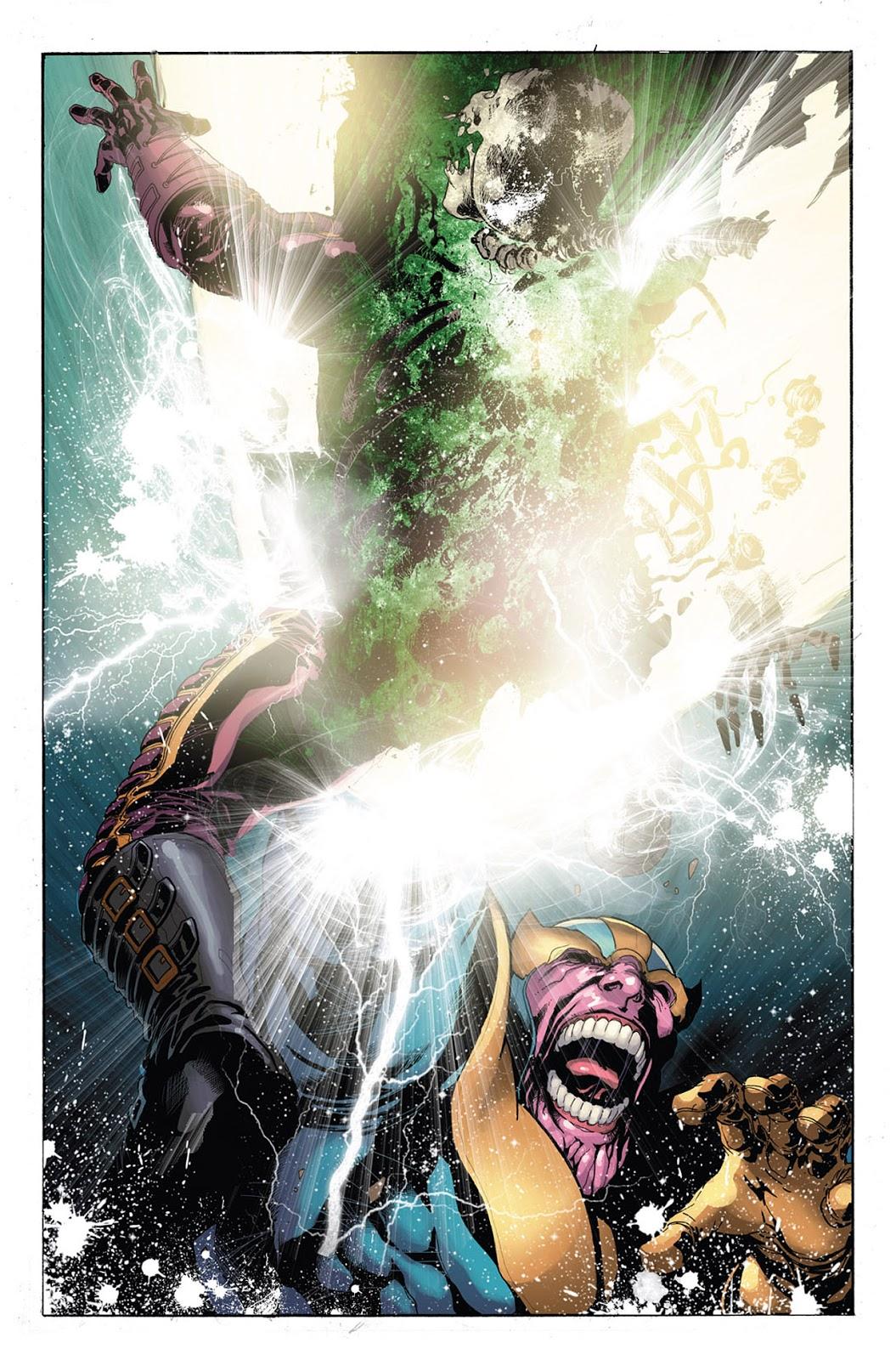 Thanos vs Drax