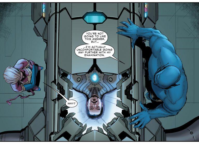 Tony Stark Coma