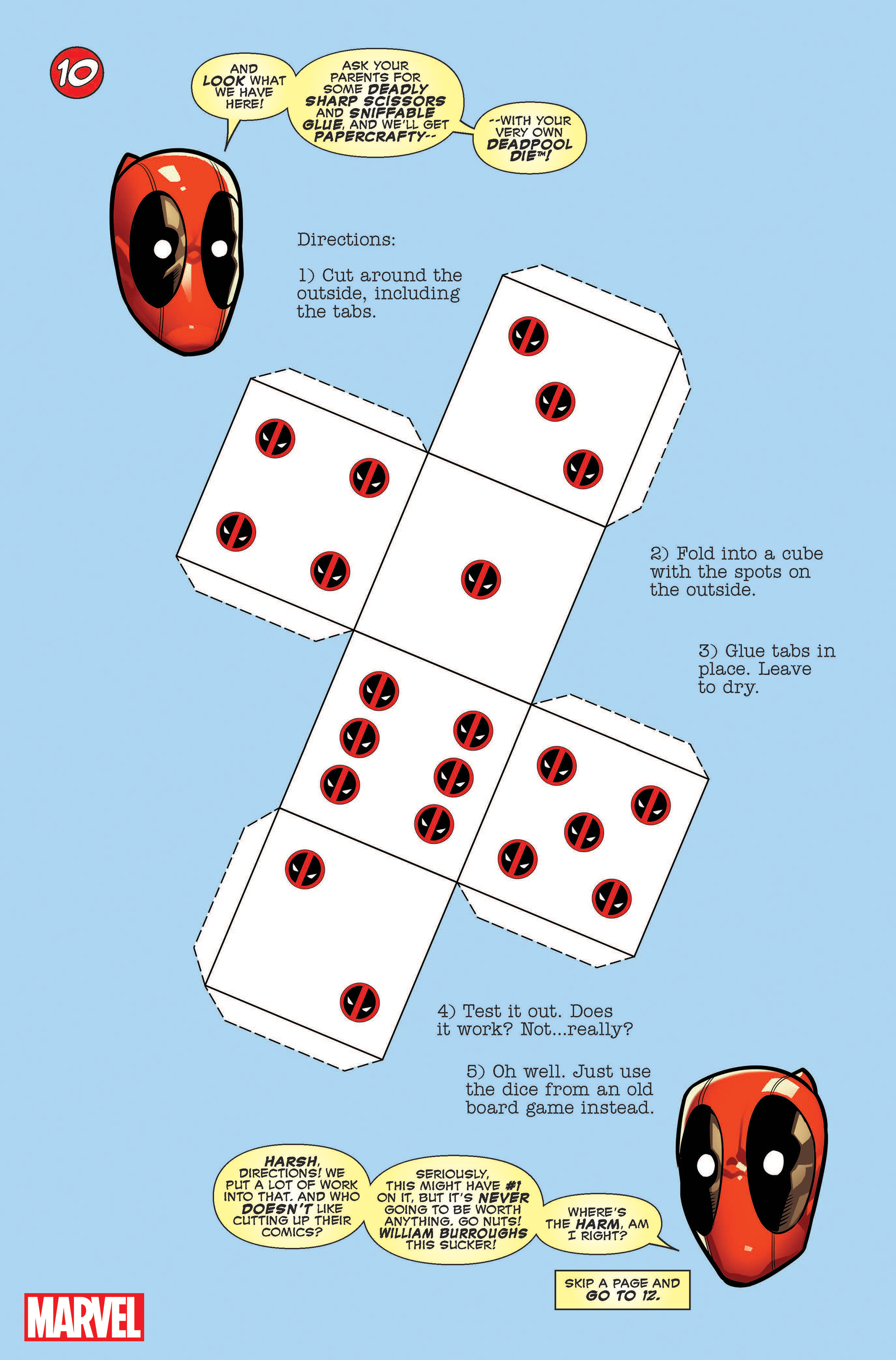 You Are Deadpool Die