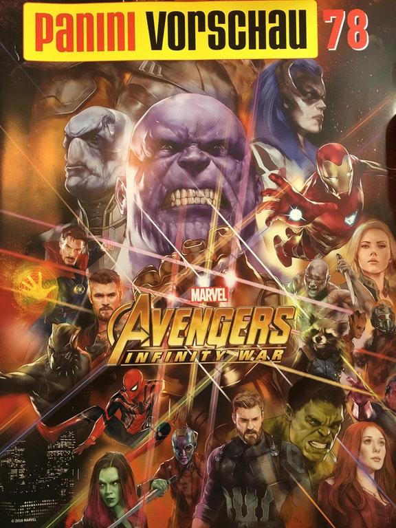 Avengers Infinity War German Magazine