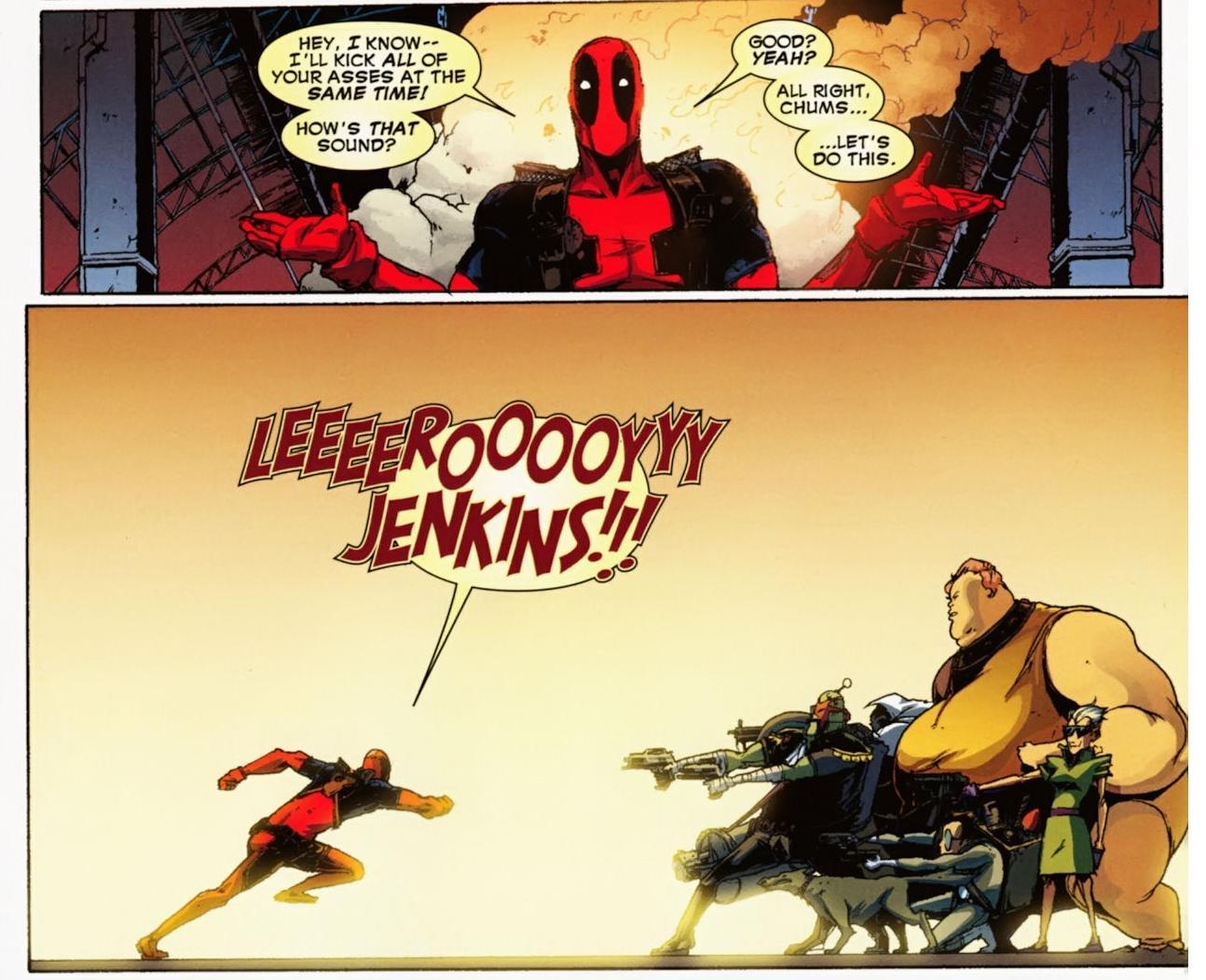 Deadpool/warcraft