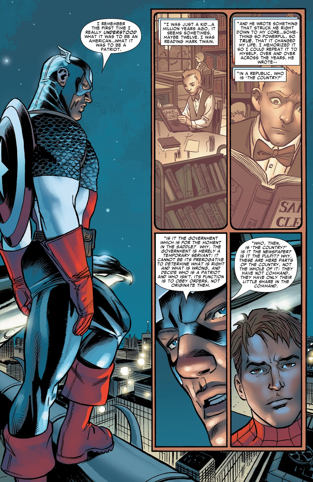 Captain America Amazing Spider-Man #537
