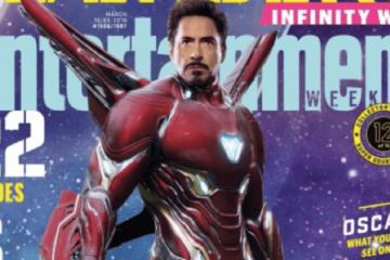 Iron Man Entertainment Weekly Cover
