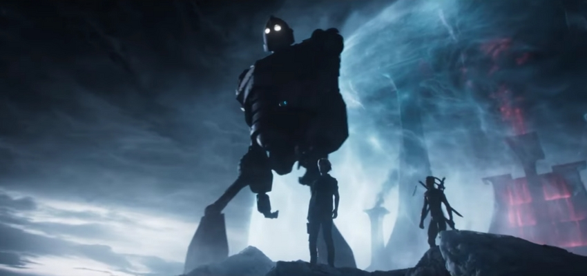 "The Iron Giant in ""Ready Player One"" - Warner Bros. Pictures and Amblin Entertainment"