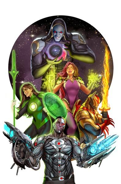 Justice League: Odyssey - Art by Stjepan Šejić - DC Comics