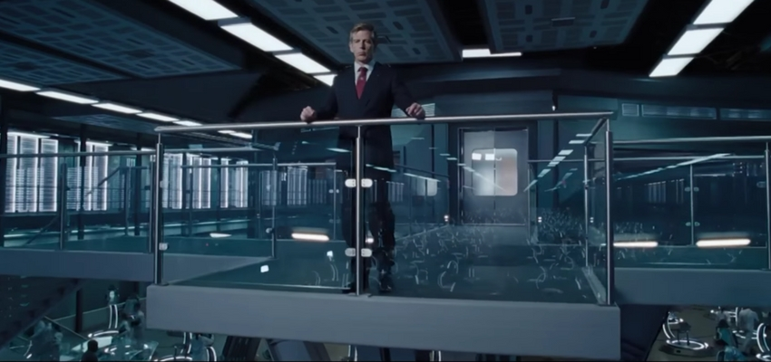 "Ben Mendelsohn as Sorrento in ""Ready Player One"" - Warner Bros. Pictures and Amblin Entertainment"