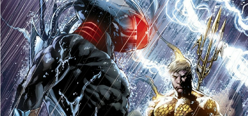Black Manta and Aquaman by Ivan Reis - DC Comics