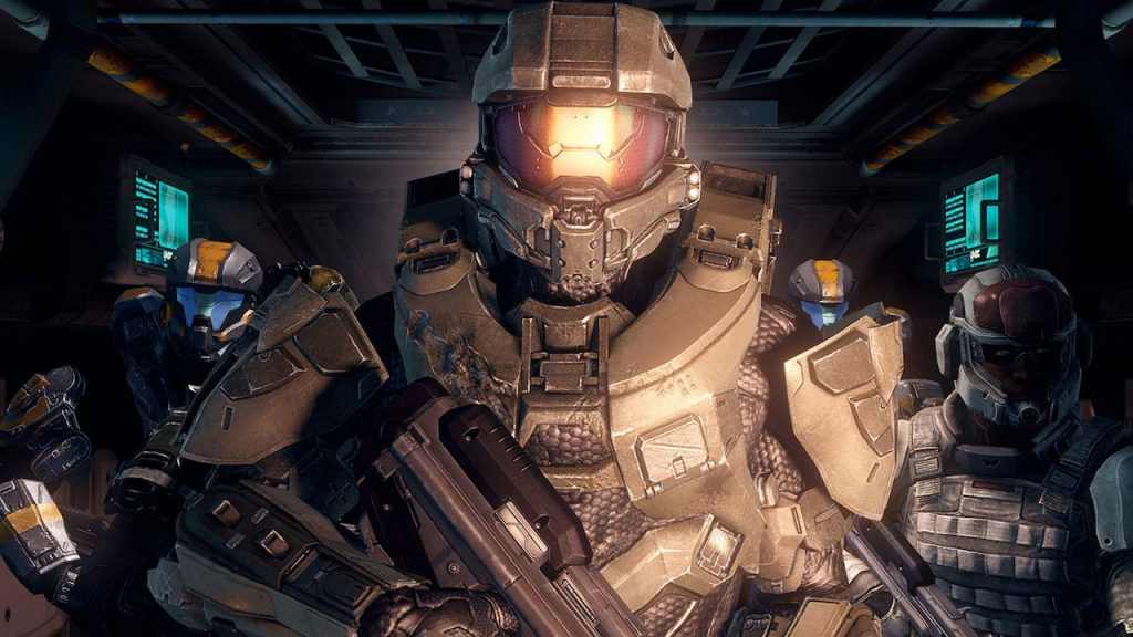 The Master Chief from Halo 4 - 343 and Microsoft Studios