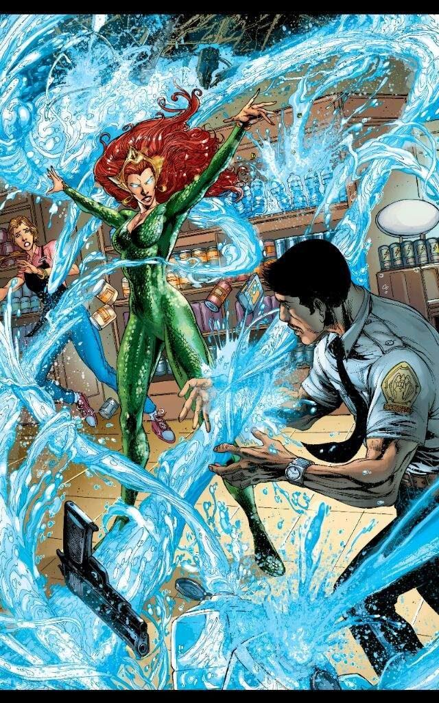 """Mera - """"Aquaman"""" DC Comics"""