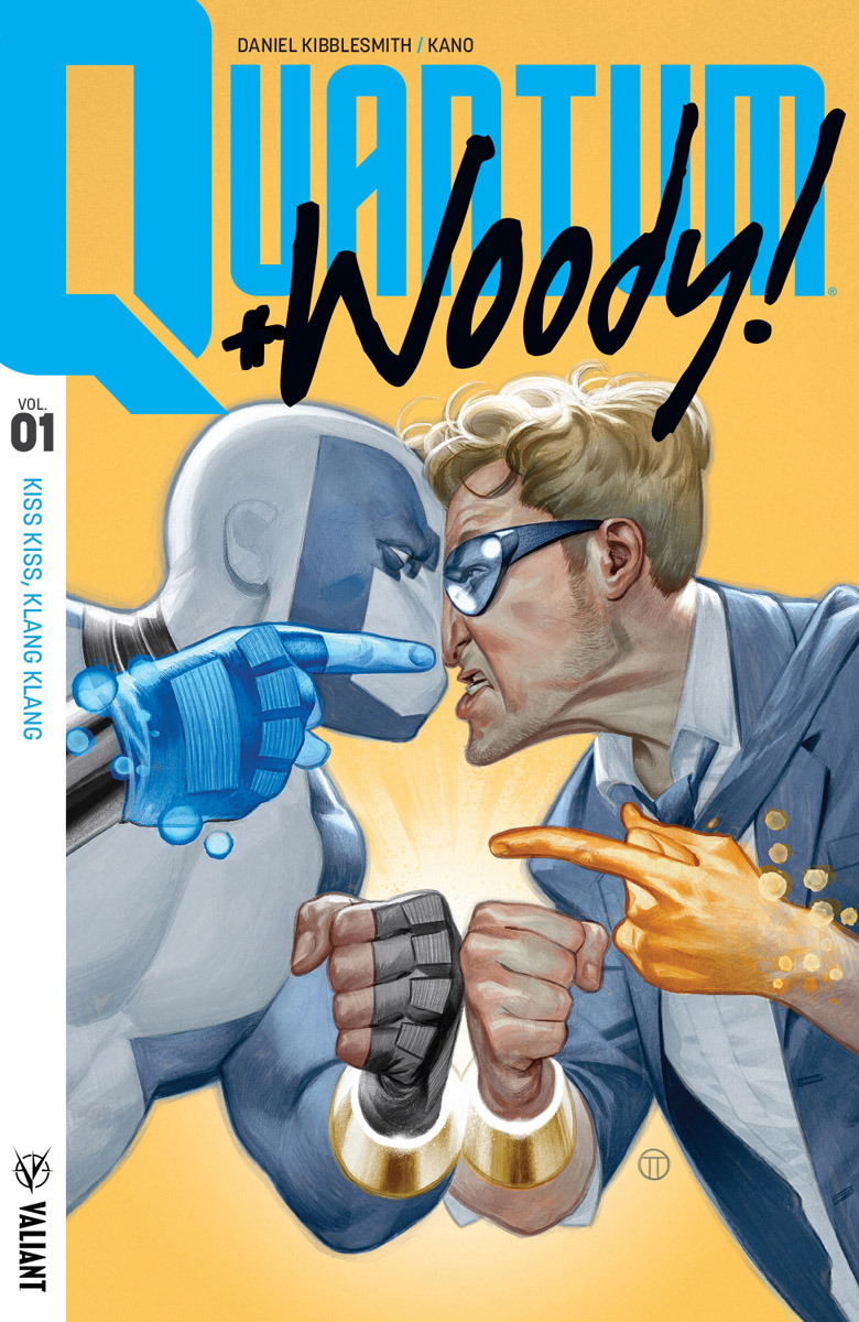 Quantum and Woody! Vol. Kiss Kiss Klang Klang TPB