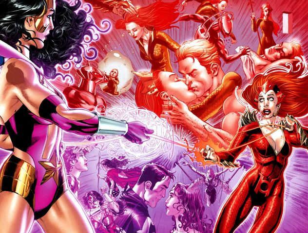 Red Lantern Mera - DC Comics