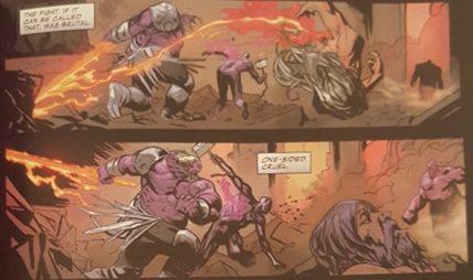 Thanos kills Hulk