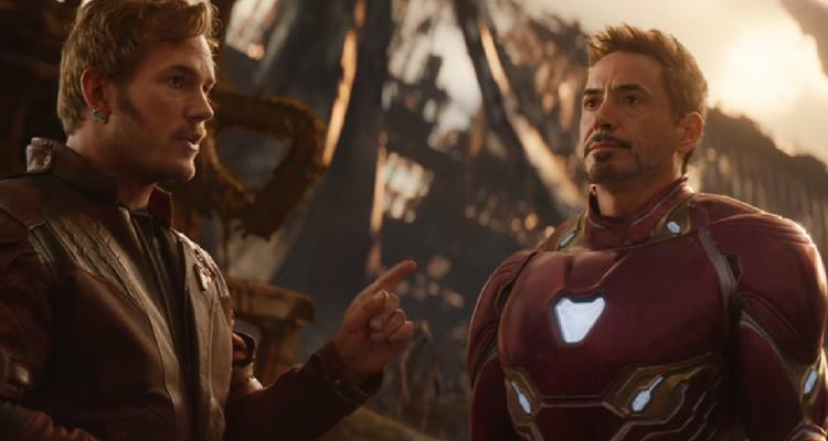 Tony Stark and Star-Lord