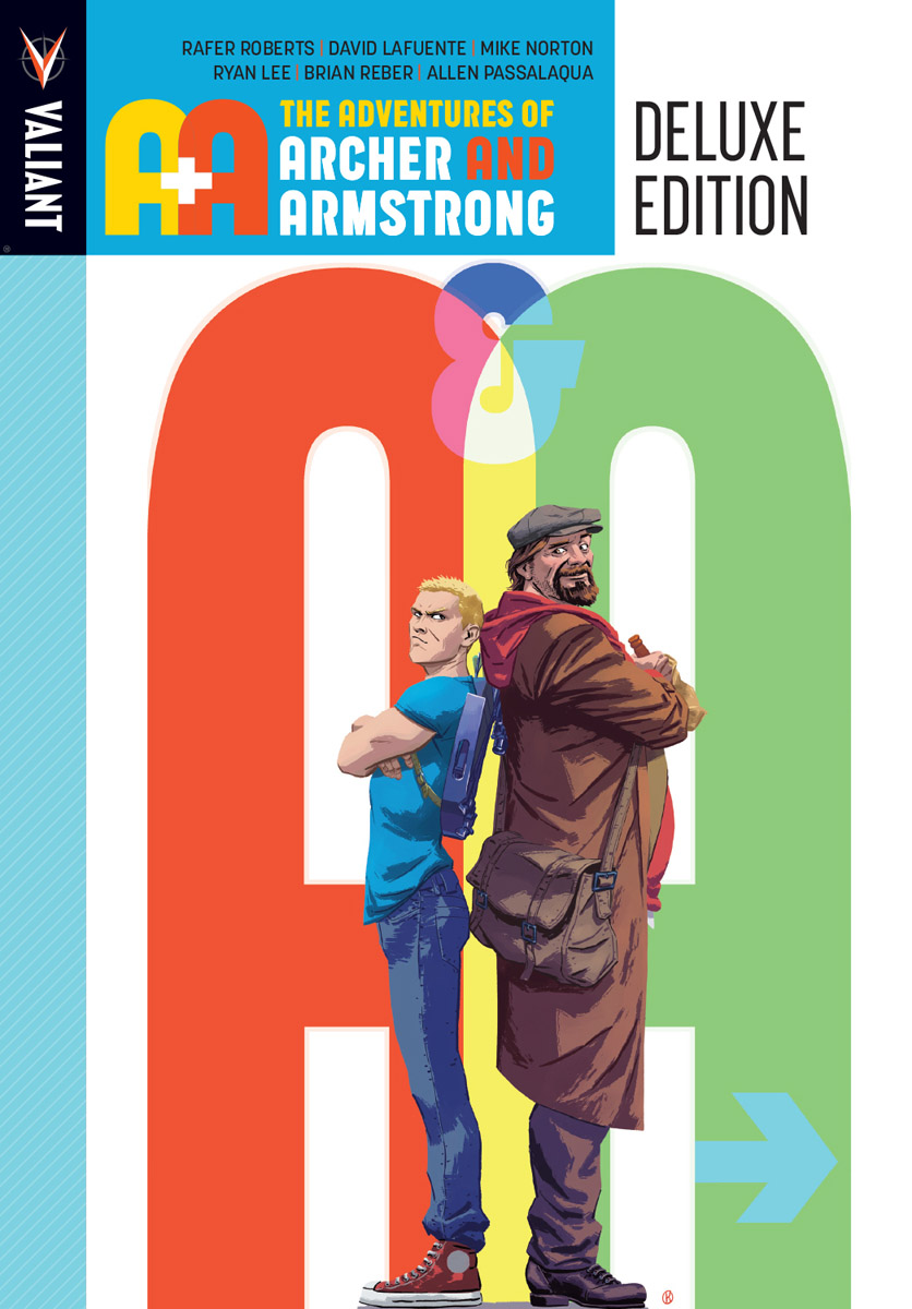 A&A: The Adventures of Archer & Armstrong Deluxe Edition HC