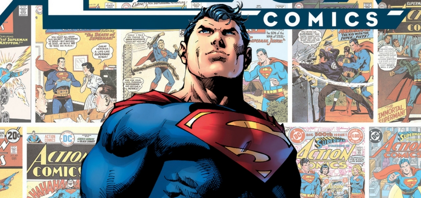 Action Comics #1000 Cover - Art by Jim Lee - DC Comics