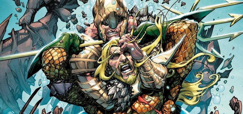 Aquaman #35 Cover - Art by Howard Porter - DC Comics