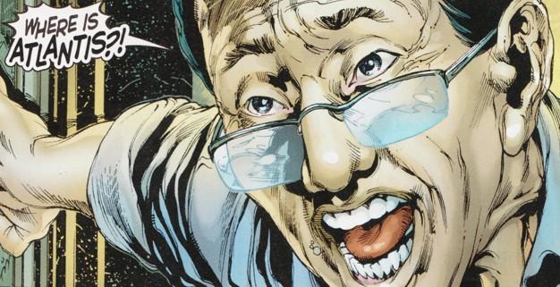 "Dr. Shin in ""Aquaman"" - Art by Ivan Reis - DC Comics"