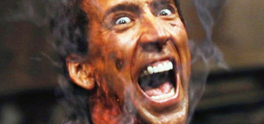 """Nicolas Cage in """"Ghost Rider"""" - Marvel Entertainment and Columbia Pictures"""