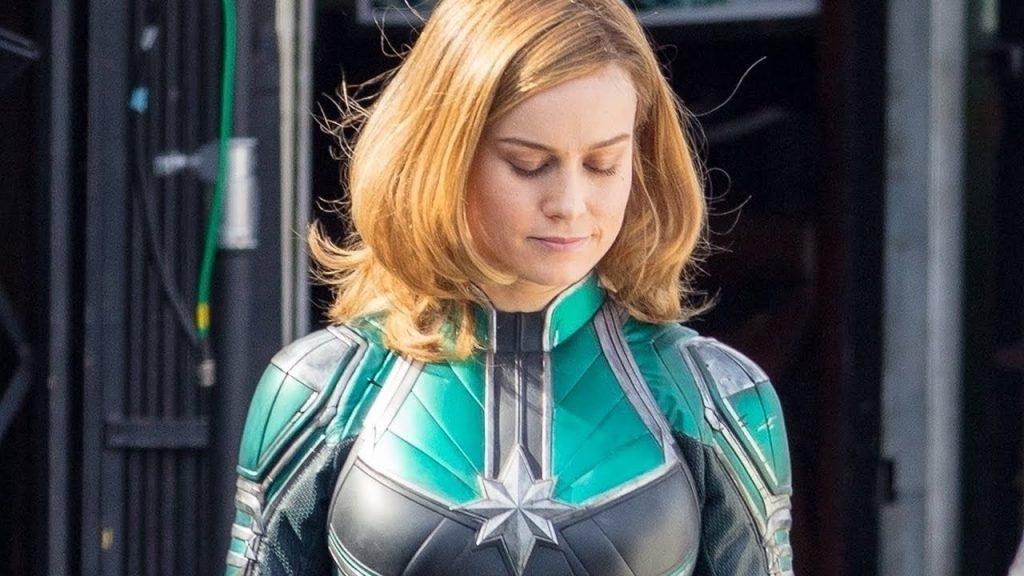 "Leaked Photo of Brie Larson in ""Captain Marvel"" - Marvel Studios"