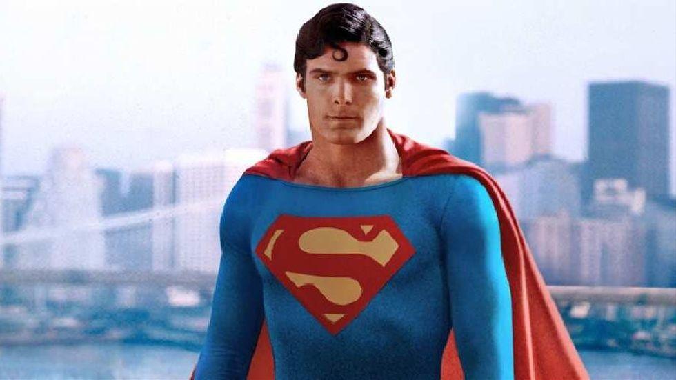 "Christopher Reeve in ""Superman"" - dir. Richard Donner - Warner Bros."