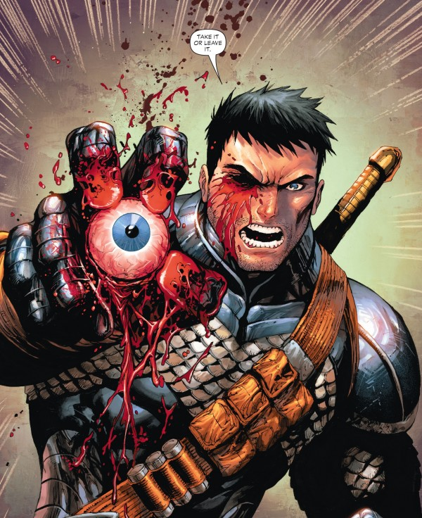 "Slade Wilson in ""Deathstroke"" - Art by Tony S. Daniel - DC Comics"
