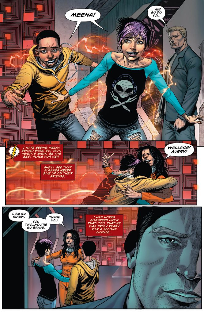 The Flash Preview Page - Art by Christian Duce - DC Comics