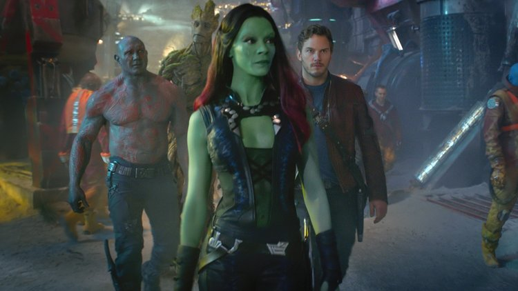 "Gamora in ""Guardians of the Galaxy"" - Marvel Studios"