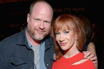 Joss Whedon and Kathy Griffin